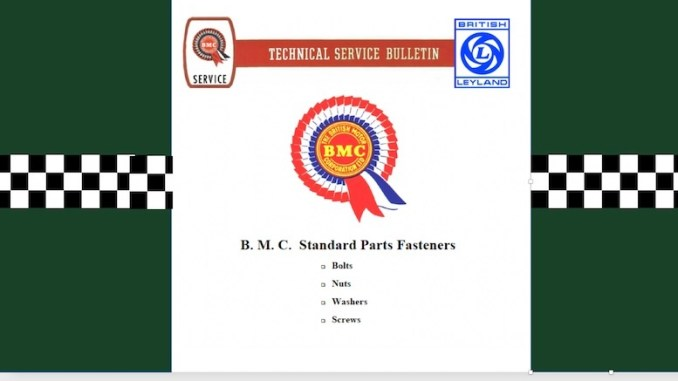 BMC TECHNICAL BULLETIN in SCOTTYS Supplier Library