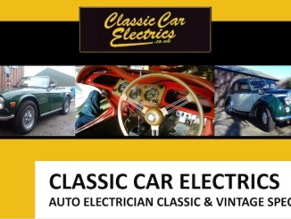 CLASSIC CAR ELECTRCIS IN SCOTTYS Artisan Library
