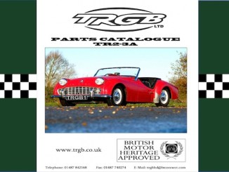 TRIUMPH TR2 PARTS CATALOGUE by TRGB in SCOTTYS Technical Library