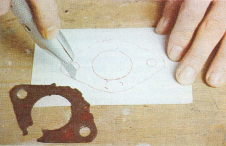 HOW TO MAKE A NEW GASKET FOR YOUR CLASSIC CAR