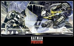 I'd see this movie. Batman v Predator: Dawn of the Hunter