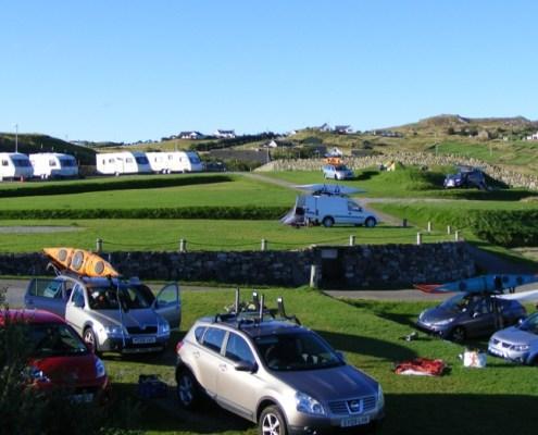 Scourie Campsite Tent areas