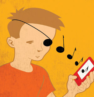 How to talk with Scouts about illegal music downloading