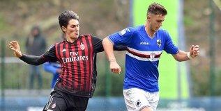 Bogliasco (Genova), 19/11/2016 Primavera/Sampdoria-Milan Mihael Modic-Giacomo Vrioni