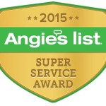 Angie's List Super Service Award winner for 2015