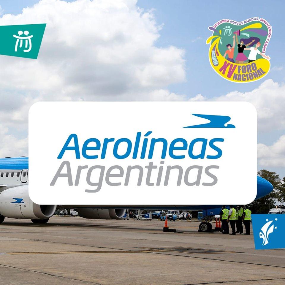 Código de Descuento XV Foro Nacional de Jóvenes – Aerolíneas Argentinas.