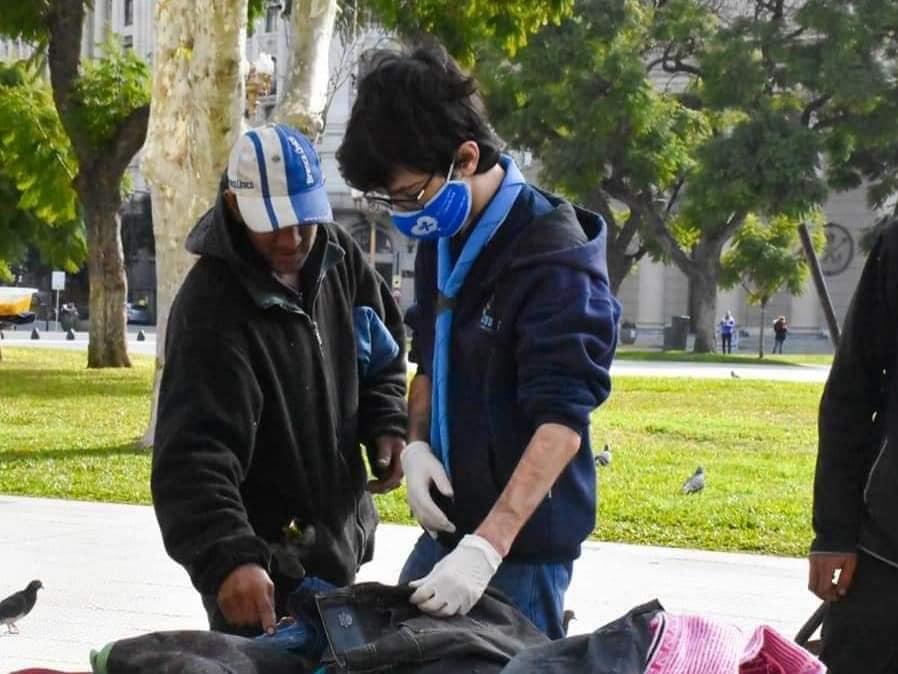 Scouts de Argentina lanza nuevamente el programa #Abrigados