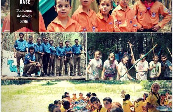 Fotos de la salida de paso y campamento de verano