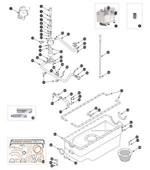 Parts for Jaguar XK120, XK140 and XK150 • Oil sump XK150  SC Parts Group Ltd
