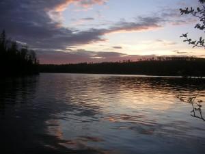 Manathon Sunset