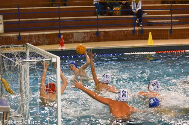 SC QUINTO Under 15 B - Lorenzo Cecconi al tiro
