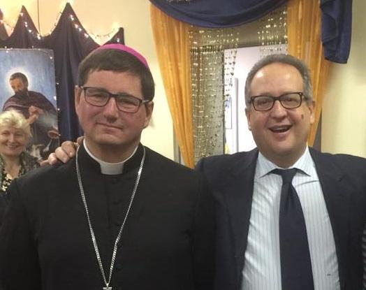 """Monsignor Anselmi: """"Cento anni, che traguardo! Auguri Quinto"""""""