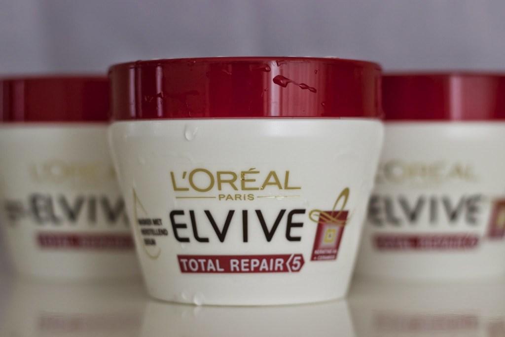Loreal total repair haar serum review haar zonder knopen zacht glanzend haar droog haar beste haarmasker