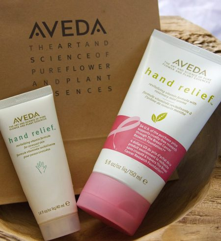 Aveda hand relief ingredients ingredienten zachte handen oplossing solution soft hands non sticky niet plakkerig handcreme review