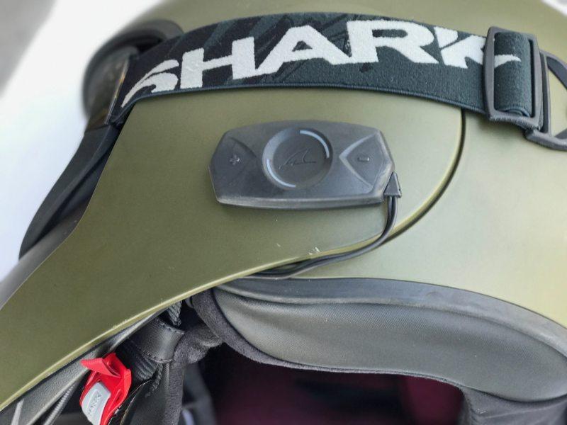 Shark Raw Blank - Matt Green Motorcycle Motorbike Helmet-1