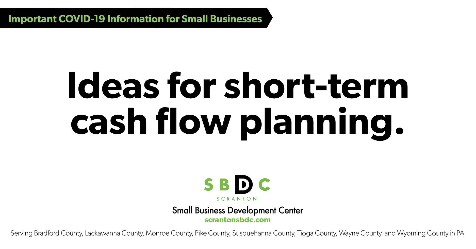 Small Business Ideas For Short Term Cash Flow Planning