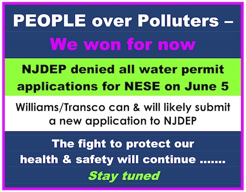 Poster image with text that says 'PEOPLE over Polluters –