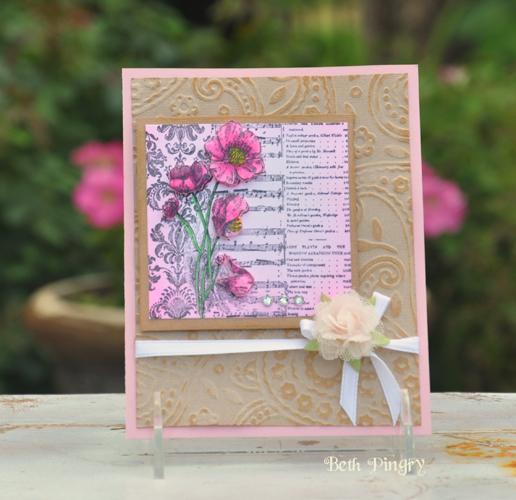 Beth Pingry Rose Card