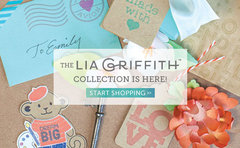 Hero Arts Lia Griffith Happy Merry Messages Stamps