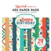 Happy Birthday Boy Collection 6 x 6 paper pad by Echo Park