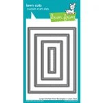 Lawn Fawn - Lawn Cuts - Dies - Large Stitched 4 Bar Rectangles
