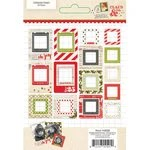 Simple Stories - Claus and Co Collection - Christmas - Chipboard Frames