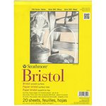 Strathmore - 9 x 12 Bristol Smooth Paper Pad - 20 Sheets