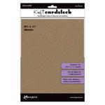 Ranger Ink - Inkssentials - 8.5 x 11 Cardstock Pack - Kraft