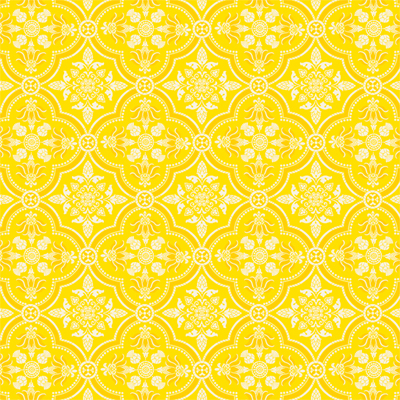 Anna Griffin Carmen Collection 12 X 12 Paper Yellow