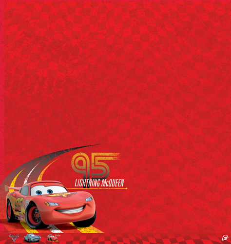 EK Success Disney Cars 2 Lightning McQueen Paper