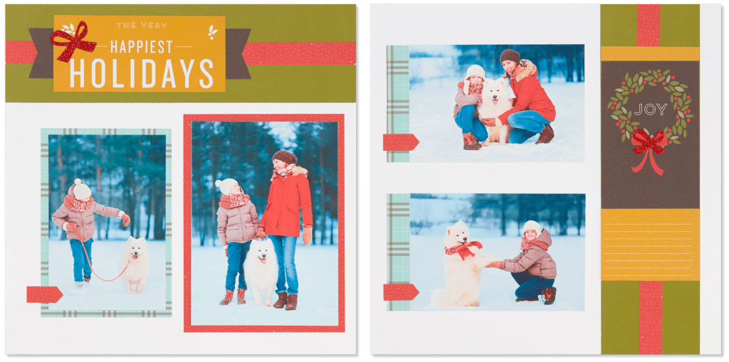 Happy Christmas Layout Four