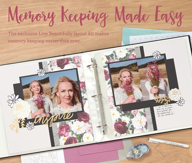 National Scrapbooking Month Cut Above Live Beautifully
