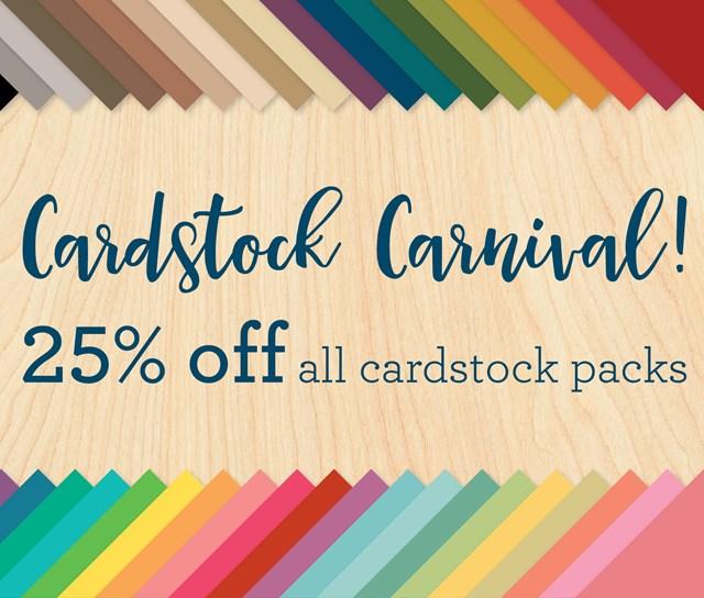 CTMH Cardstock Sale