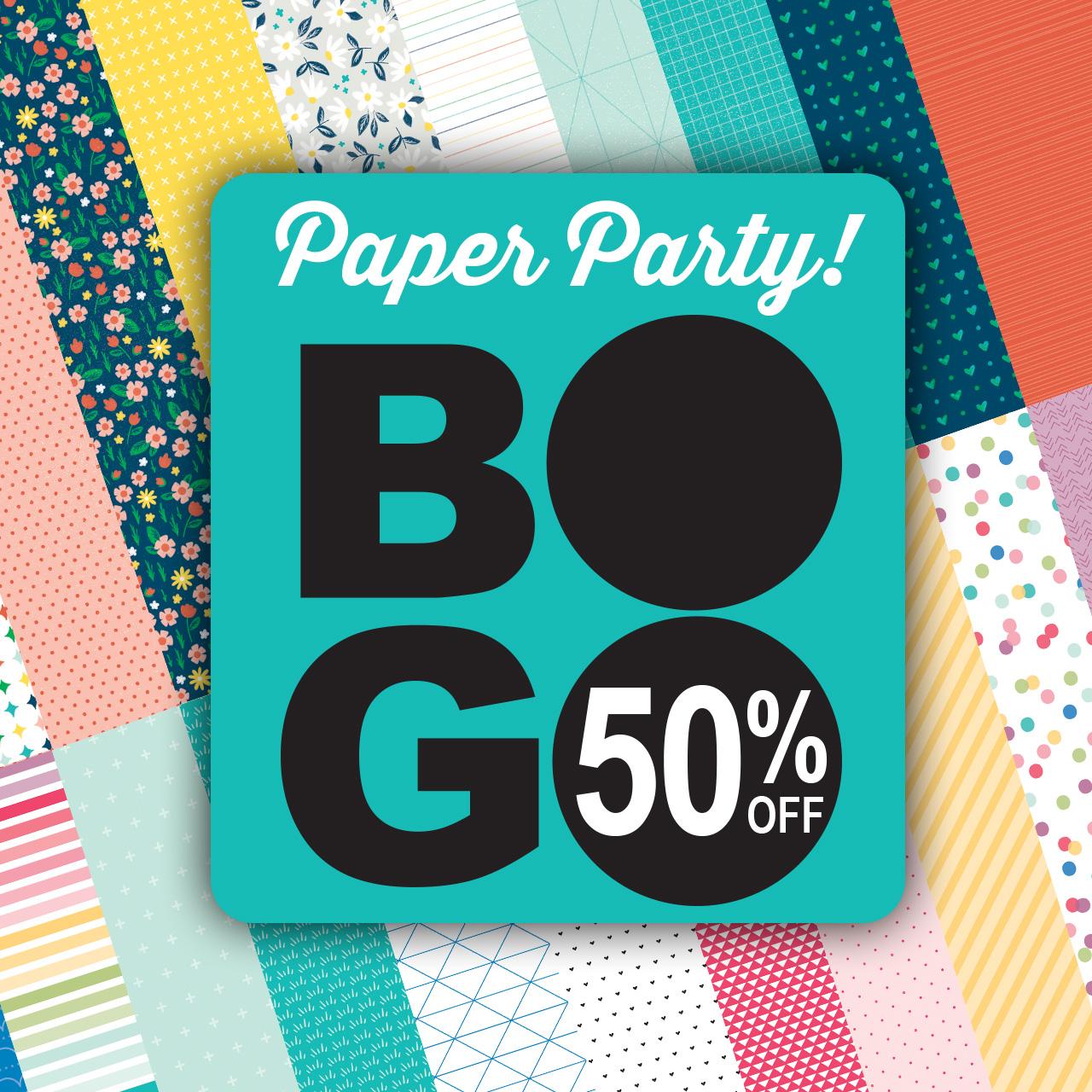 CTMH BOGO Paper Party
