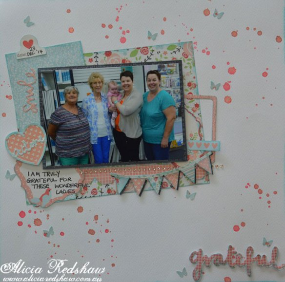 Scrapbooking Class withAlicia