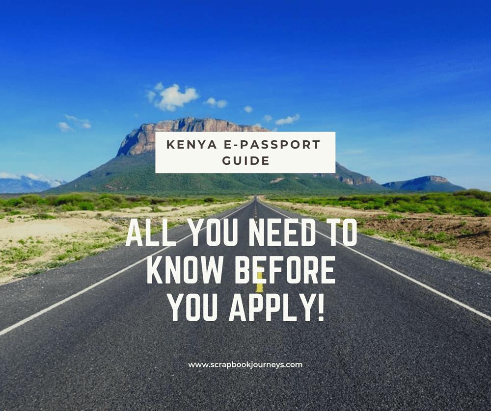 Kenya E-Passport