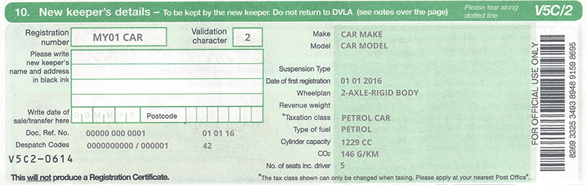 Find Car Registration Number Online