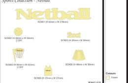 Sports Collection – Netball