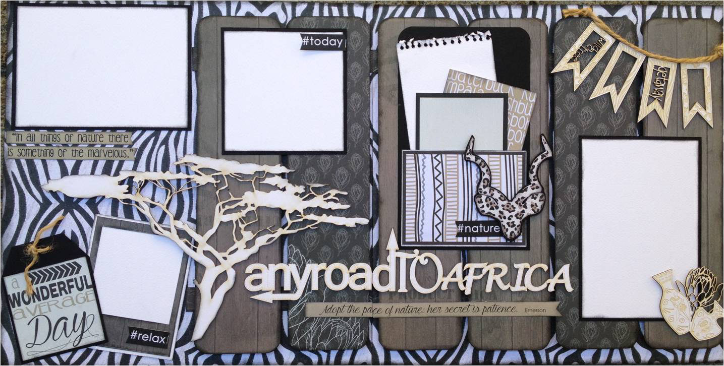 Scrapbook ideas without photos - The Beautiful Designs And Gorgeous Patterns Are Ready For You To Cut Out And Use As Embellishments On Your Own Scrapbook Layouts