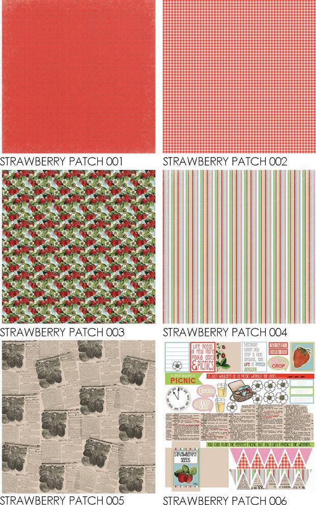 Strawberry Patch Collection