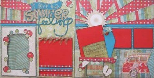 Beachcomber Scrapbooking Paper Example 5