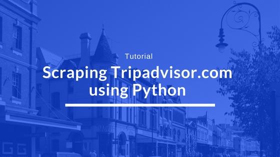 web-scraping-trip-advisor