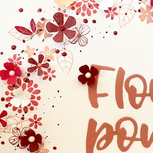 Flower Power Kranz 4
