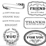 For A Friend Stamp
