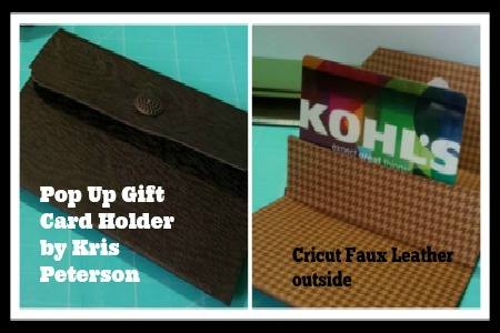 Kris Peterson_Gift Card Holder