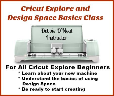 NEW Cricut Explore and Design Space Basics Class - Scrap Me Quick