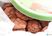 Galletas de chocolate y almendra con Thermomix