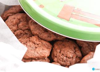 Galletas de chocolate y almendra con Thermomix