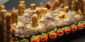 Tarta Cementerio de Galletas y Chocolate