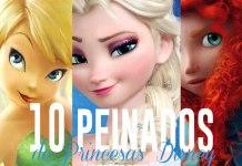 peinados de princesas disney
